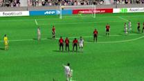 3D Goal: Grenier seals it for Lyon against Rennes