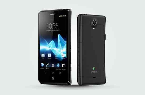 Sony Xperia T shown on UK's Phones4U... with AT&T branding