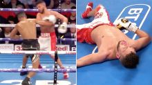 Incredible moment cocky boxer gets KO'd after taunting rival