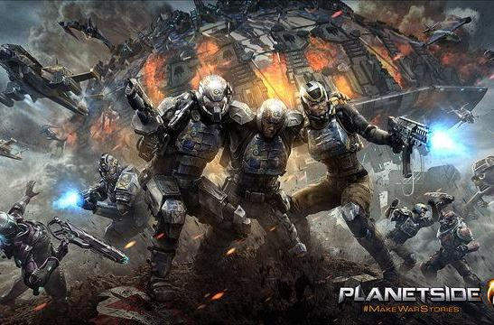 PlanetSide 2's PS4 beta arrives on January 20th