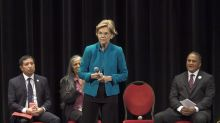 Elizabeth Warren apologizes at Native American forum
