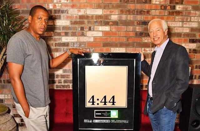 Jay-Z's '4:44' album is no longer a Tidal exclusive