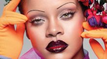 Rihanna trae de vuelta la moda de las cejas extra finas