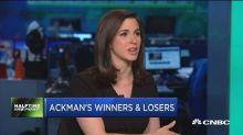 Ackman's winners and losers