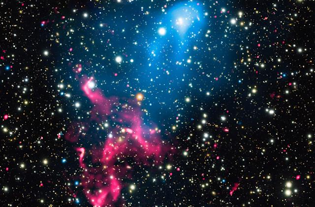 Scientists discover a cosmic-scale particle accelerator