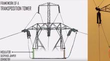 Esta torre eléctrica tiene un problema que ha costado docenas vidas y miles de millones de pérdidas