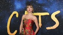 Taylor Swift elige un look Oscar de la Renta para estrenar Cats