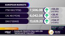 Daimler profits fall 64% on 'dieselgate' fallout