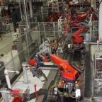 Tesla is falling after firing hundreds of workers (TSLA)