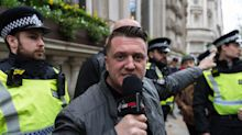 Tommy Robinson jailed for 13 months after admitting contempt of court