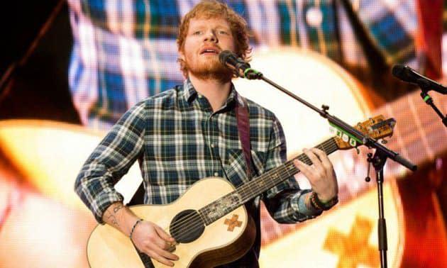 Un album demo d'Ed Sheeran, enregistré quand il avait 13 ans, mis en vente à prix d'or
