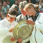 AP PHOTOS: No Wimbledon champs in 2020, but plenty in past
