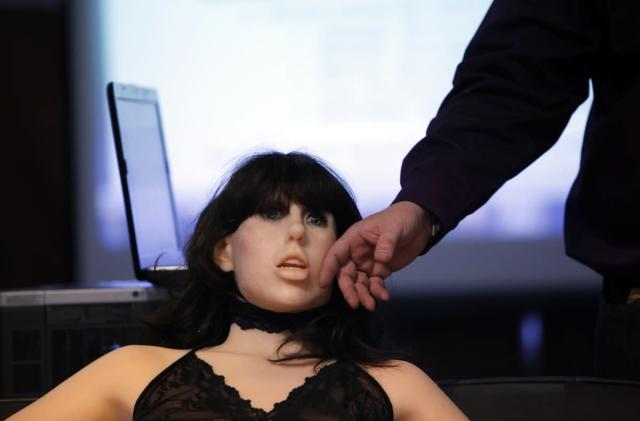 Dear first-generation sex robot ...