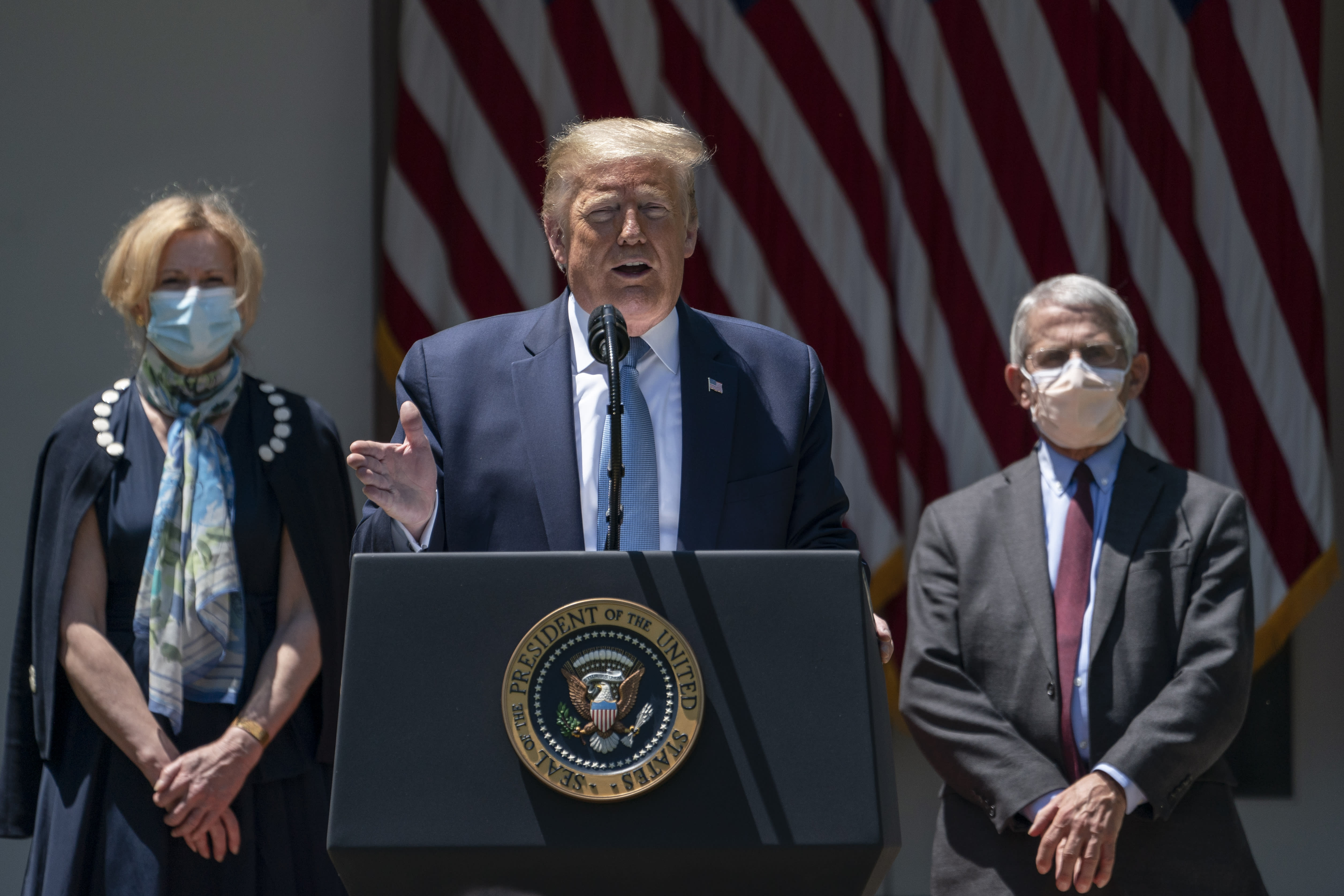 Democrats slam President Trump for 'lazy, four-page copy and paste project' on coronavirus