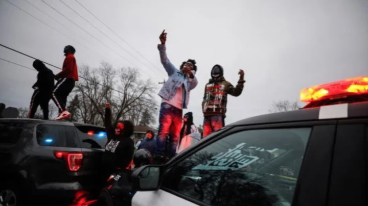Protests after Black man fatally shot in traffic stop