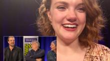 Shannon Purser (Barb!) Asks Fellow 'Stranger Things' Star David Harbour About His BFF Status with Patton Oswalt