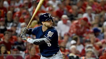 Braun among NL hitters on rise with DH change