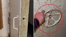 'Bonkers' discovery inside home for sale shocks people online