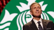 Starbucks' Schultz: 'Rents are coming down!'