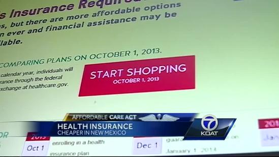 Report: New Mexico will pay less for health care coverage