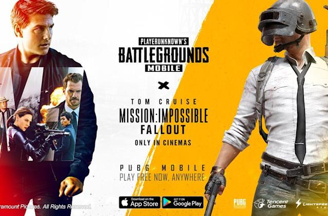 'PUBG Mobile' is getting a Mission: Impossible crossover