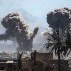 US-backed forces press offensive against IS Syria enclave