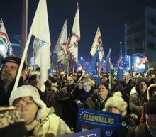 Anti-government protesters mass for 5th day in Hungary
