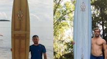 Hawaii Man Finds Friendship with Man Who Recovered His Lost Surfboard Washed Up in the Philippines