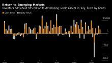 Mercados emergentes voltam a atrair capital em julho, diz IFI