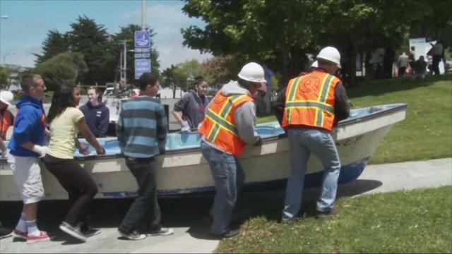 Boat that drifted to Calif. after tsunami returned to Japan