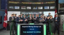 Imperial Mining Group Ltd. Opens the Market