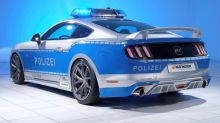 Germany's New Ford Mustang GT Police Car Looks Rad