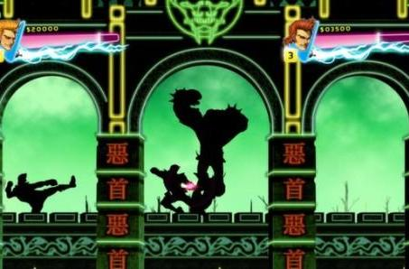 Double Dragon Neon cowabungas onto Steam today with online co-op