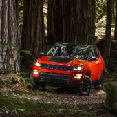 Jeep's 2018 Compass debuts in the Brazilian factory that will produce it