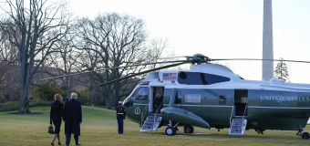 Updates: Trump departs White House for final time