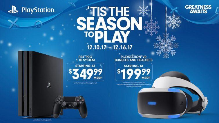 76adffc213c0 PS4 Pro and PlayStation VR Black Friday price cuts return next week