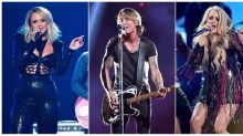 At home with kids, pets and spouses, country stars play on