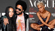 Why Lenny Kravitz is so proud of daughter Zoë for being on the cover of Vogue