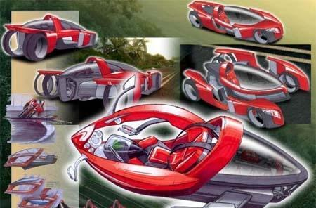 Pie in the sky Test Drive concept car