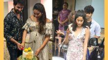 Pics: Janhvi, Ishaan Attend Shahid Kapoor and Mira's Baby Shower