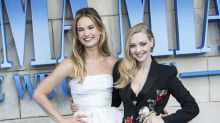 Mamma Mia se estrena con dos looks: Lily James vs. Amanda Seyfried