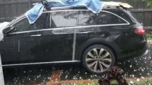 Australia weather: Melbourne battered by golf ball-sized hail as extreme conditions persist