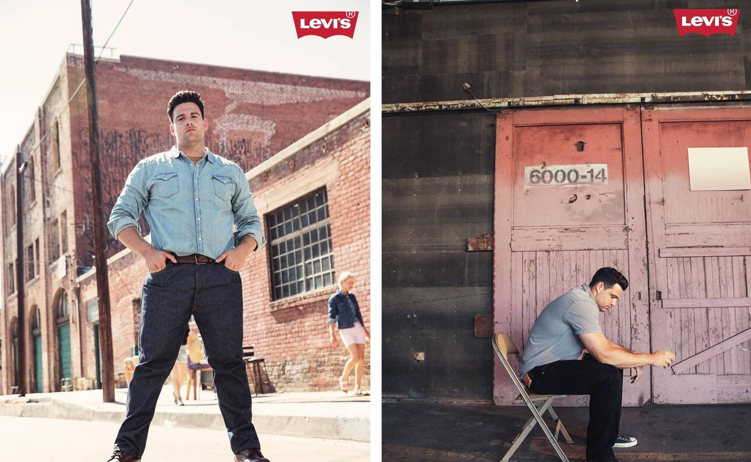 213e369487 Olympian Brett Morse is the newest face of Levi s Big   Tall Men s  collection. (Photo  Courtesy of Levi s)