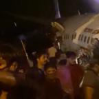 Kerala plane crash: Air India plane breaks in two at Calicut runway