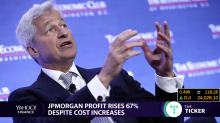 JPMorgan profit rises despite cost increases