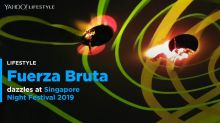Headline act, Fuerza Bruta dazzles at Singapore Night Festival 2019