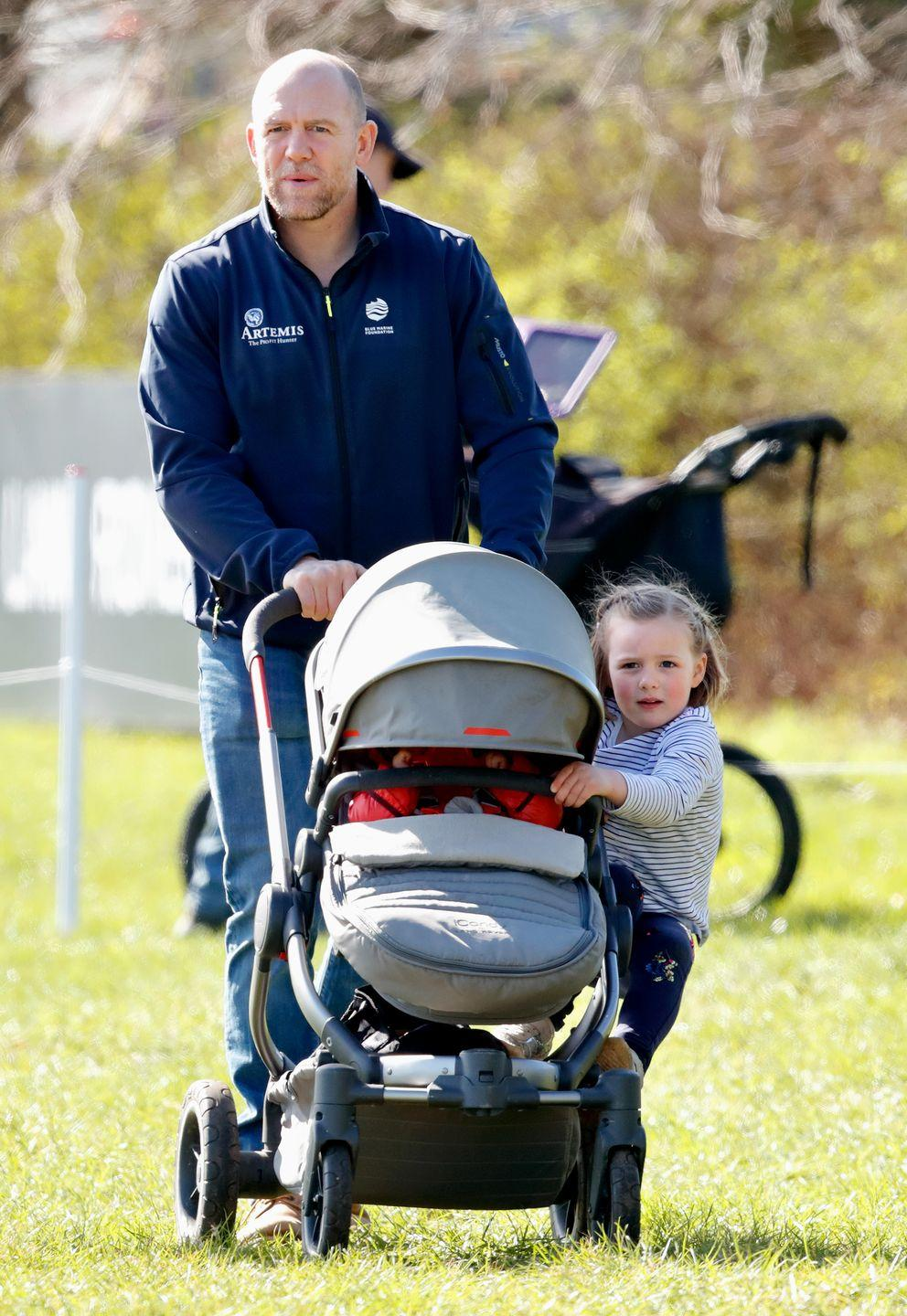 "<p><strong>Branch of the Family Tree:</strong> <a href=""https://www.townandcountrymag.com/society/tradition/a21655660/zara-tindall-daughter-name-meaning-lena-elizabeth-tindall/"" rel=""nofollow noopener"" target=""_blank"" data-ylk=""slk:Daughter of Zara Tindall;"" class=""link rapid-noclick-resp"">Daughter of Zara Tindall;</a> great-granddaughter of Queen Elizabeth II</p>"