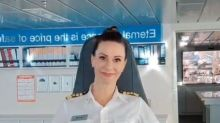 Female cruise captain takes down sexist troll in viral video