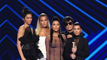Kim Kardashian Says 'Our Hearts Are Broken' as She Accepts People's Choice Award with Family