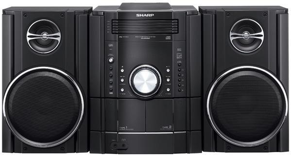 Sharp debuts all new line of boomboxes at CEDIA